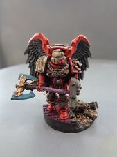 Warhammer Space Marines Blood Angels Lord Executioner and Honour Guard 846