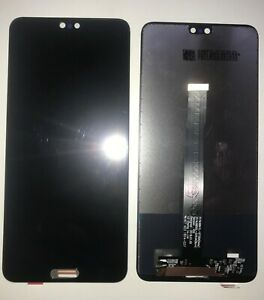 Glass LCD Display Touch Screen Screen for Huawei P20 Black EML-L09 + GLS 24H