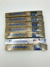 New listing 7 Vintage PRO Double Duty Toothbrush Style 903 Medium Soft Sealed Rare Bs90