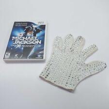 MICHAEL JACKSON THE EXPERIENCE (NINTENDO WII) WITH GLOVE (LOOK DESCRIPTION) E260