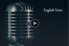 I will record professional english voice over for you