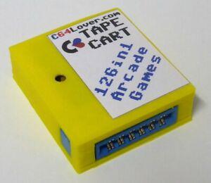 Commodore 64/128 TapeCart 126in1 Arcade Games