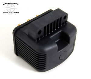USA MADE HIGH PERF SINGLE FIRE 3 OHM IGNITION COIL FITS HARLEY 1970-99 & CUSTOM