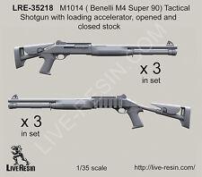 Live Resin 1/35 LRE-35218 M1014 (Benelli M4 Super 90) Tactical Shotgun (2)