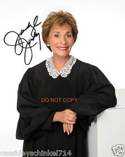 "Judge Judy TV Show 8x10"" reprint Signed Photo #3 RP Family Court Judge"