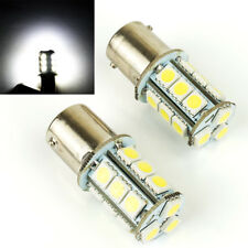 2 PC WHITE LED TAIL LIGHT CAR BULB LAMP TURN SIGNAL HEAD LIGHTS S1