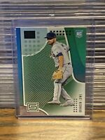 2019 Panini Status Brandon Lowe Green Parallel Rookie Card Tampa Bay Rays RC SP