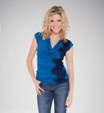 Viscose Evening, Occasion Cap Sleeve Machine Washable Tops & Blouses for Women
