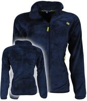 Felpa GEOGRAPHICAL NORWAY Full Zip Anapurna donna Ursula soft pile pettinato new