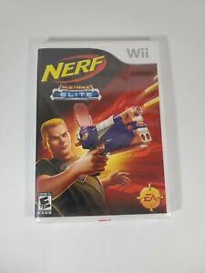 NEW Nintendo Wii - Nerf N-Strike Elite - Complete w/ Manual - Sealed