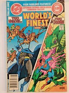 DC #282 Superman*Batman*Green Arrow* Hawkman*Shazam Two Heroes! Two Dooms! 1982
