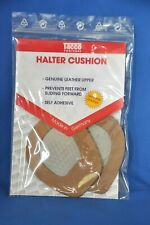 Tacco 606 Genuine Leather Rubber No Slip Halter Cushions- ONE SIZE- 1 PAIR