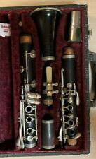 V. Kohler's and Sons Graslitz Wood Clarinet  Bb LP 260680 Made in Czechoslovakia