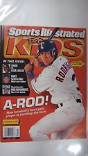 July 2001 Alex Rodriguez Texas Rangers Sports Illustrated For Kids NO LABEL