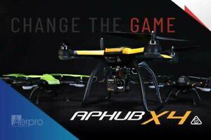NEW Aerpro Inspection Drone Aphub X4 1080p