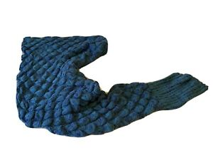 Castle and keep mermaid tail blanket 90x 190cm