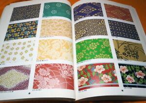 Japanese EDO Paper Pattern Book from Japan Design #1050