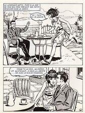 LES VACANCES DE PUCK (JULIANA BUCH) PLANCHE CLAPOTIS  PAGE 66 SIGNEE !!!