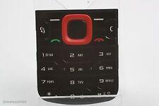 ORIGINALE Nokia 5320 Xpress Music numeri TASTIERA NERO ROSSO TASTI Tappetino key...