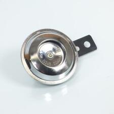 Klaxon Générique Moto 6V / chromé D70mm Neuf