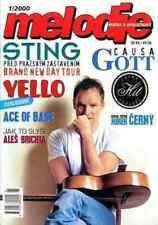 STING ENIGMA MICHAEL CRETU CELINE DION ACE OF BASE YELLO KAREL GOTT magazine