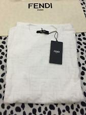 NWT FENDI MEN WHITE CASUAL SHIRT