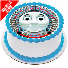 Thomas The Tank Edible Icing Image Personalised Birthday Party Cake Topper
