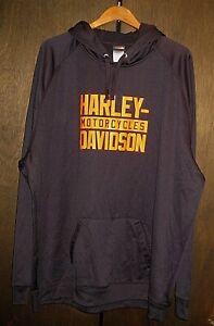 HARLEY-DAVIDSON NEW RICHMOND WI BLACK HOODIE PULLOVER SWEATSHIRT TOP MENS 5X 5XL