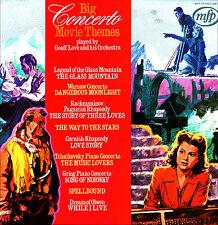 BIG CONCERTO MOVIE THEMES * Geoff Love Orchestra * EMI MFP LP * 1972