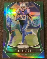 T.Y. Hilton 2019 Panini Prizm GREEN Refractor   🔥 Colts #141