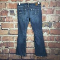 American Eagle Artist Jeans Womens Size 6 Stretch Boot Cut Distressed