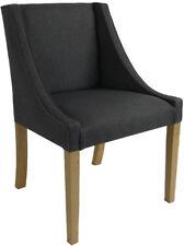 5 er Set Polsterstuhl Esszimmer Sessel Chanel anthrazit handgefertigt TOP