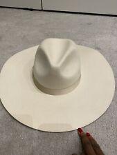 LACK OF COLOR MONTANA BONE CREAM WHITE FEDORA HAT