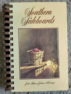 SOUTHERN SIDEBOARDS VINTAGE SPIRAL COOKBOOK JUNIOR LEAGUE OF JACKSON MS VTG