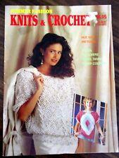 Summer Fashion Knits & crochet ladies & children's tops pattern book