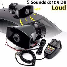 50W 12V Car Truck Alarm Police Fire Loud Speaker PA Siren Horn MIC System Kit