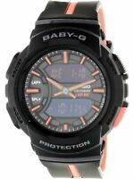 Casio Women's Baby G BGA240L-1A Black Resin Japanese Quartz Sport Watch