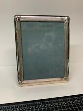 """Christofle Sterling Silver Picture Frame Oceana 7x9.5"""""""