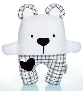 Teddy Bear With Check Trousers Soft Toy, 27CM  Christmas Gift, Soft Toy,