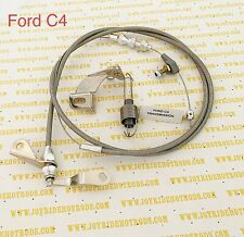 Ford C4 Kick Down Cable with 4 BRL Carb Return Spring & Holding Bracket