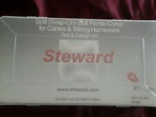 Steward split emi ferrite cores for cables & wiring harnesses k-403 test design