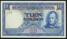 °°° SPECIMEN NETHERLANDS 10 GULDEN - UNC PERFECT °°°