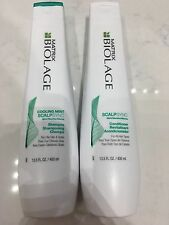 Matrix Biolage Cooling Mint ScalpSync Shampoo & Conditioner 13.5oz Duo Set