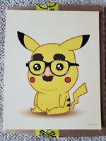 Mike Mitchell JLU Disguise Pikachu Pokemon 2016 Print