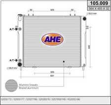 Radiatore JEEP GRAND CHEROKEE I (ZJ) 4.0 i 4x4 135kw 91-99