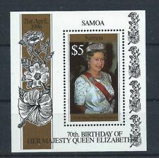 Samoa Bloc N° 54** (MNH) 1996 - 70eme anniversaire de la Reine Elizabeth