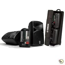 Yamaha Stagepas Stagepass 400i Portable PA Speaker System & Rolling Carry Case