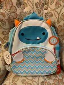 Skip Hop Zoo Toddler Backpack, Yeti