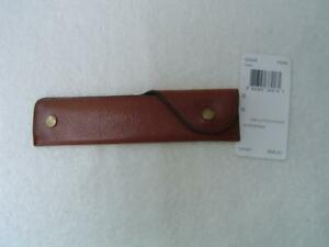 NEW AUTHENTIC COACH LETTER OPENER WITH FAWN LEATHER COVER #62648