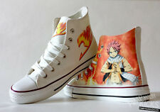 Custom Made Anime Fairy Tail Natsu Canvas Shoes